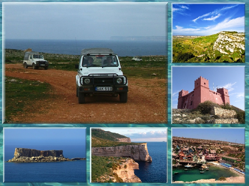 Image result for Malta Jeep Safari