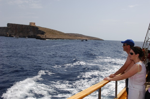 Cruising around Malta